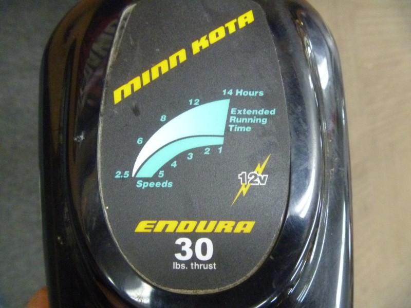 "MINN KOTA ENDURA 30-LB. THRUST TROLLING MOTOR WITH 30"" SHAFT"