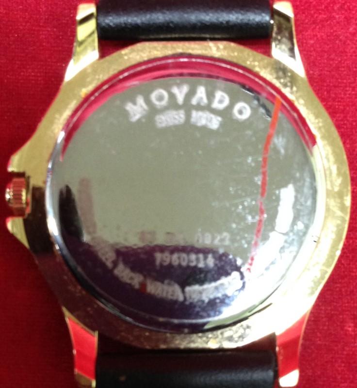 MOVADO Lady's Wristwatch 87-E4-0823