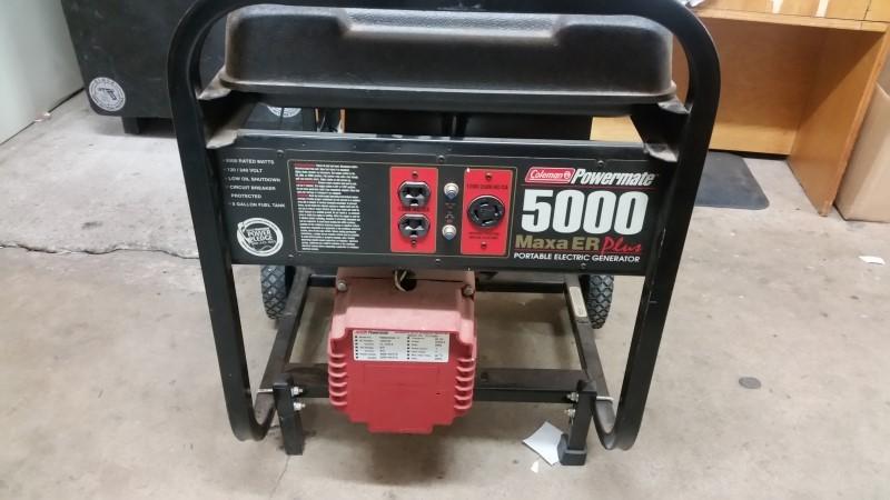 Coleman Powermate MaxaER Plus 5000 Watt Generator