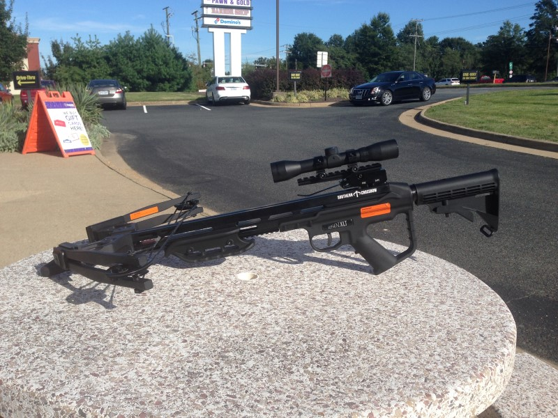 SOUTHERN CROSSBOW RISEN XLT CROSSBOW WITH FOREGRIP