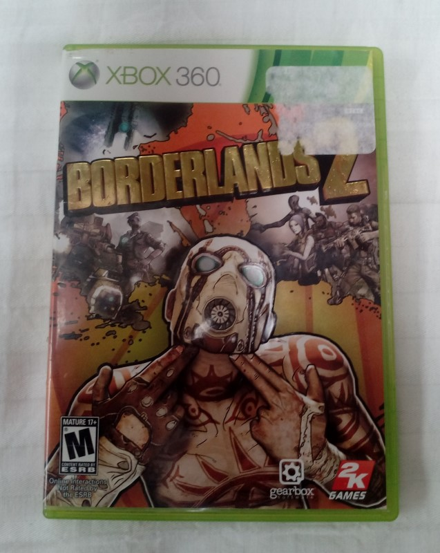 MICROSOFT XBOX 360 GAME BORDERLANDS 2