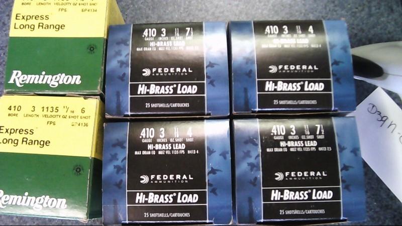 FEDERAL AMMUNITION Ammunition 410 GA