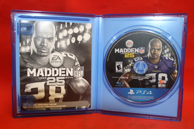 Madden NFL 25 Sony PlayStation 4 PS4 Video Game