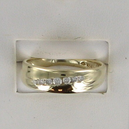 Gent's Gold Ring 14K Yellow Gold 2.7dwt