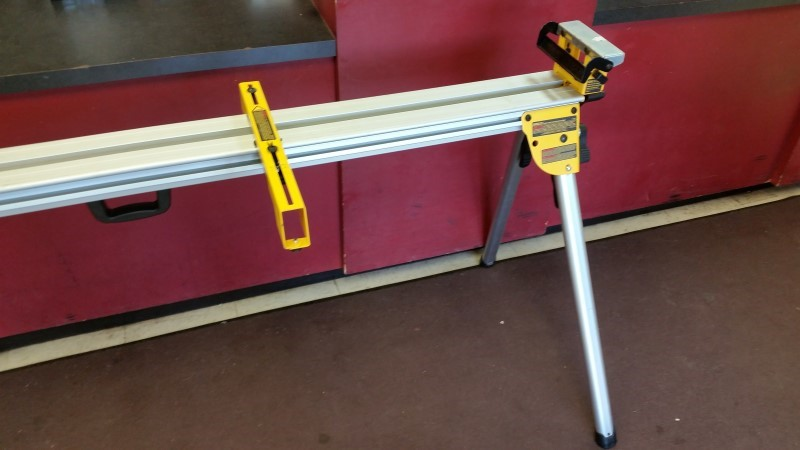 DEWALT Aluminum Adjustable Miter Saw Stand
