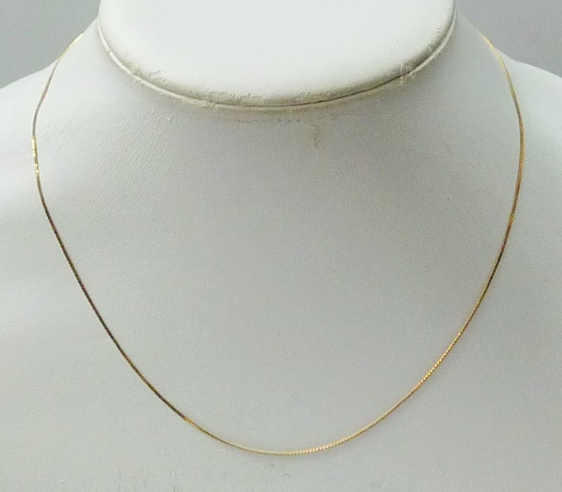 "18"" Gold Chain 14K Yellow Gold 0.96dwt"
