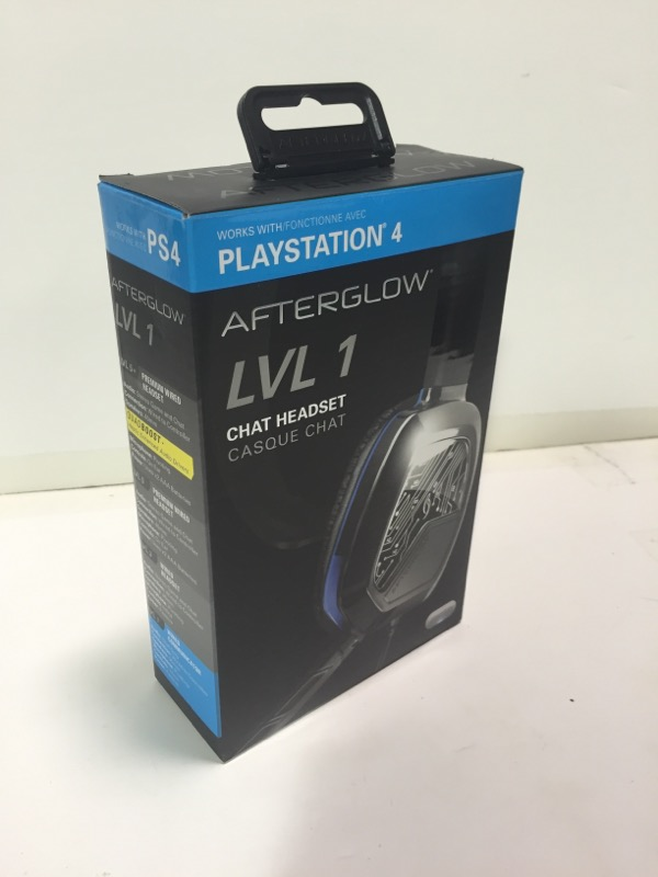 Afterglow Lvl 1 Chat Headset for Playstation 4