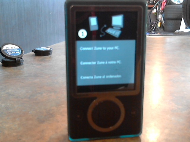 *FOR PARTS ONLY* MICROSOFT  ZUNE 1089