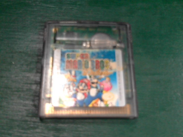 NINTENDO Vintage Game SUPER MARIO BROS DELUXE GAME BOY COLOR
