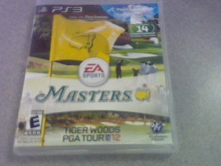 SONY Sony PlayStation 3 Game TIGER WOODS PGA TOUR 12 MASTERS