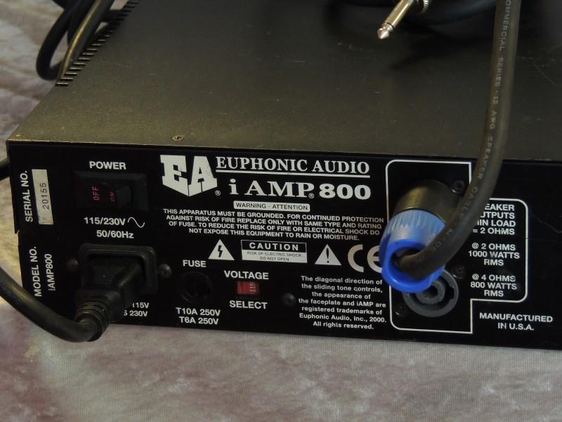 Euphonic Audio iAmp 800 Class D Bass Head