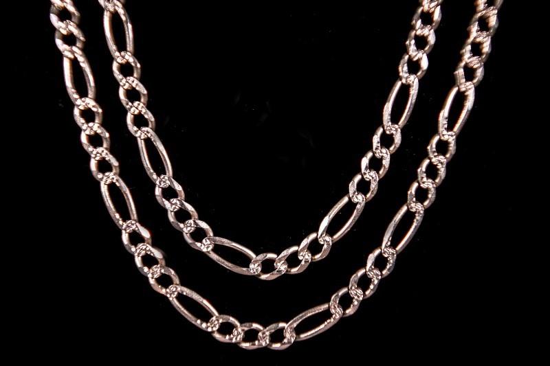 Gold Figaro Chain 14K Yellow Gold 33.2g