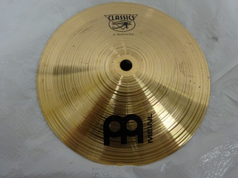"""MEINL CYMBALS & PERCUSSION Cymbal MEDIUM BELL 8"""""""