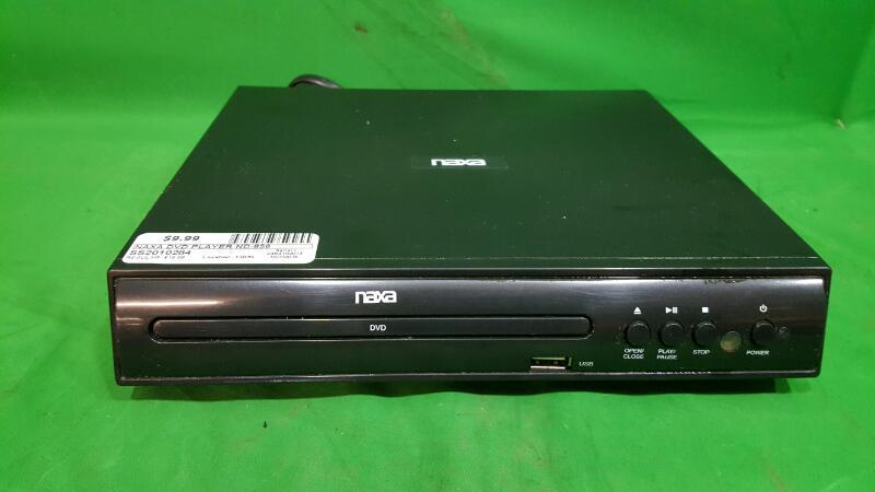 NAXA DVD Player ND-856