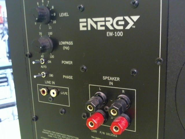 ENERGY Home Theatre Misc. Equipment EW-100