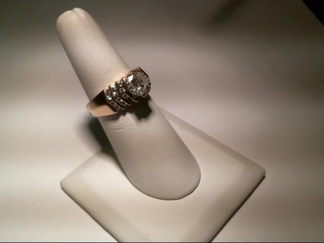 Lady's Gold-Diamond Anniversary Ring 25 Diamonds 1.61 Carat T.W.