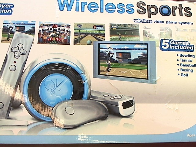 WIRELESS SPORTS VIDEO GAME SYSTEM