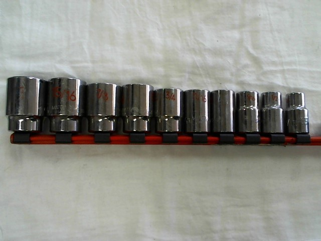 MATCO TOOLS Sockets/Ratchet SOCKET SET