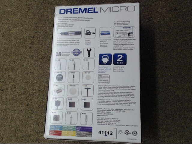 DREMEL MICRO 8050-N/18 NEW IN BOX