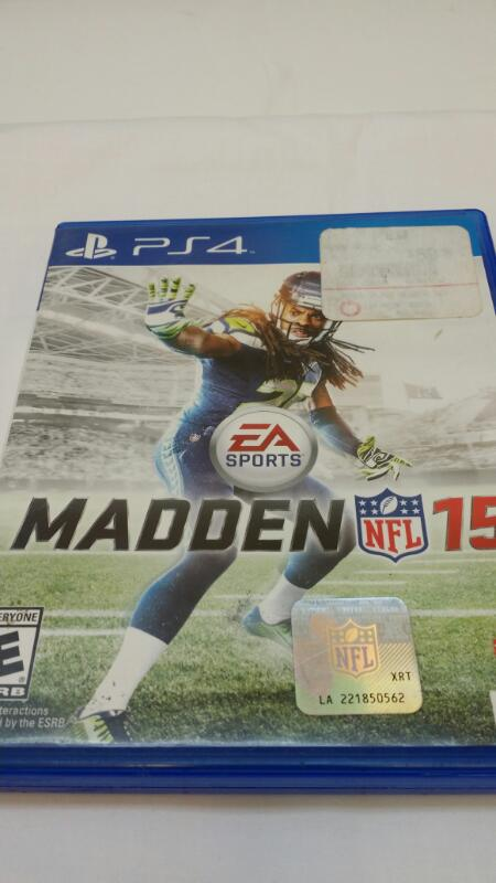 SONY PLAYSTATION 4 MADDEN 15 VIDEO GAME]