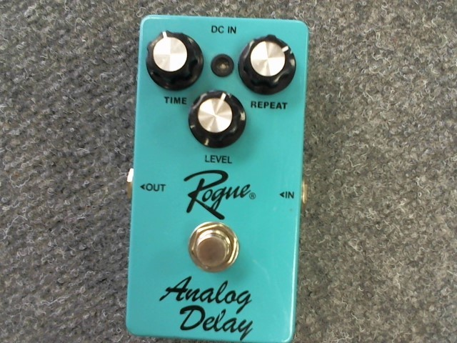 ROGUE MUSICAL INSTRUMENTS Musical Instruments Part/Accessory ANALOG DELAY