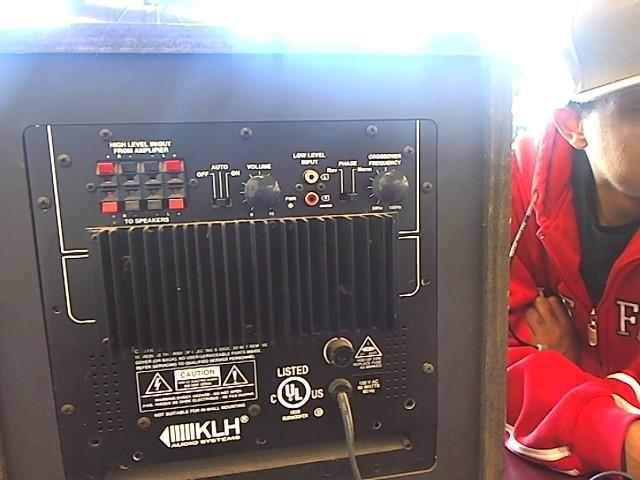 KLH Amplifier ASW10-100C
