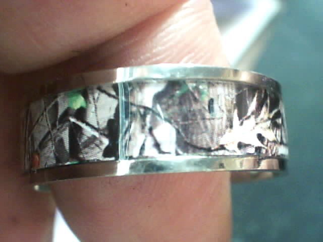 Lady's Ring Silver Titanium 1.5dwt