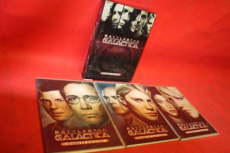 Battlestar Galactica - Season 2.5 (DVD, 2006, 3-Disc Set) FREE SHIPPING!