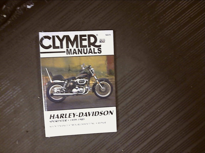 BIKERS CHOICE Motorcycle Part 700419 59-85 CLYMER XL SERVICE MANUAL