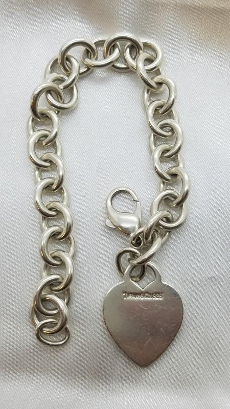 Tiffany & Co. Silver Fashion Bracelet 925 Silver 33.6g