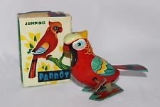 JUMPING PARROT TOY