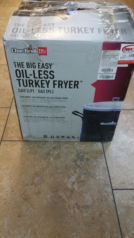 CHAR-BROIL Grill OILESS TURKEY FRYER