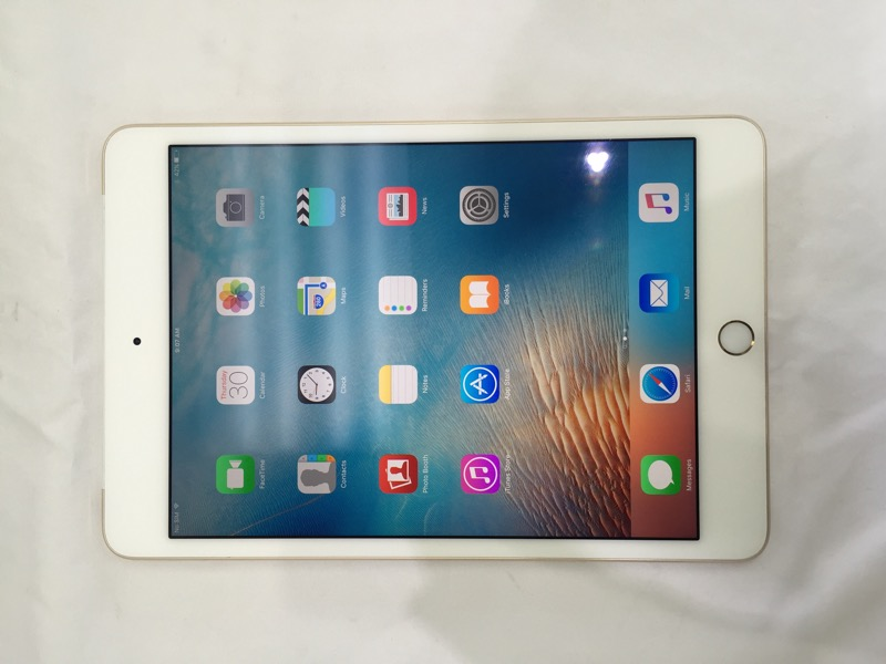 APPLE IPAD MINI 4 16GB, WI-FI + 4G, 7.9IN - GOLD (MK882LL/A)