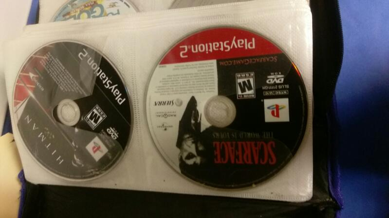 SONY PS2 GAMES (34) DVD MOVIES (33)
