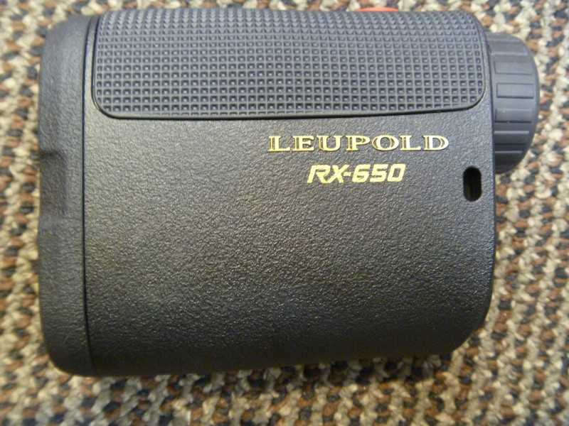 LEUPOLD RX-650 MICRO LASER RANGEFINDER (BLACK) WITH CARRYING CASE