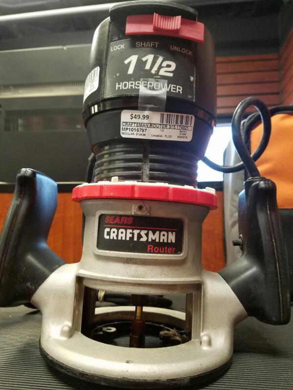 CRAFTSMAN Router ROUTER 315.174921