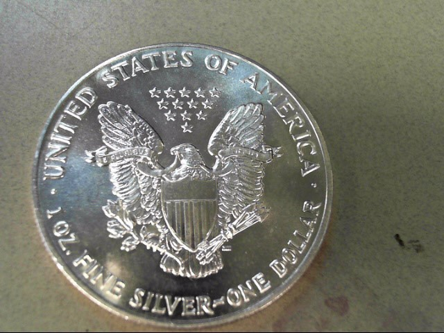 UNITED STATES Silver Coin 1990 LIBERTY SILVER DOLLAR