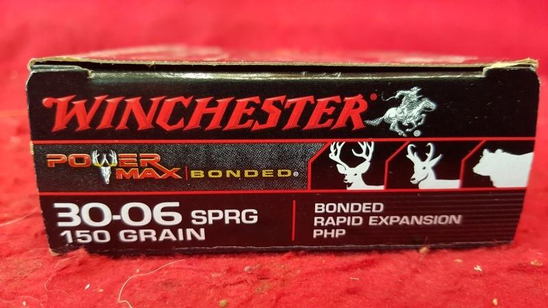 WINCHESTER Ammunition POWER MAX 30-06 POWER MAX 30-06