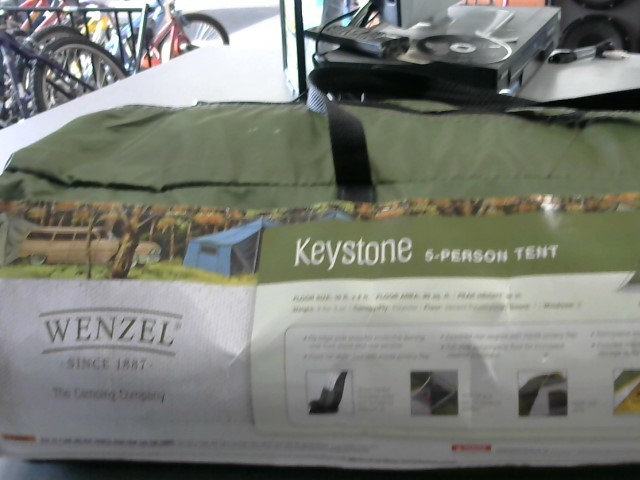 WENZEL 5 PERSON TENT