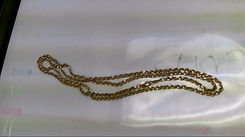 Gold Rope Chain 14K Yellow Gold 10.8g