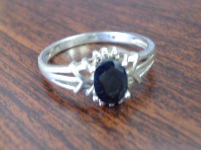 Lady's Silver Ring 925 Silver 2.6g Size:9.5