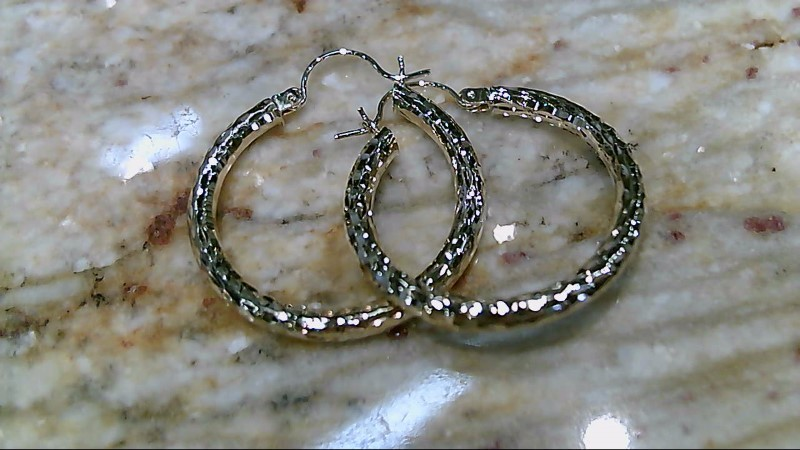 Gold Earrings 14K Yellow Gold 2.5g