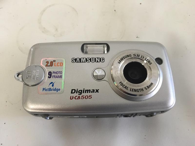 SAMSUNG Digital Camera U-CA501