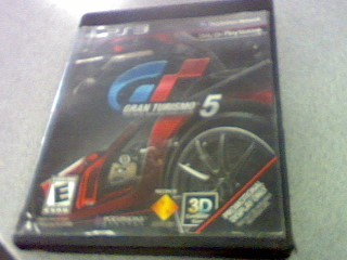 SONY Sony PlayStation 3 Game GRAND TURISMO 5