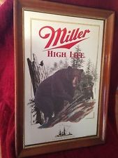 MILLER BREWING COMPANY Entertainment Memorabilia HIGH LIFE SIGN