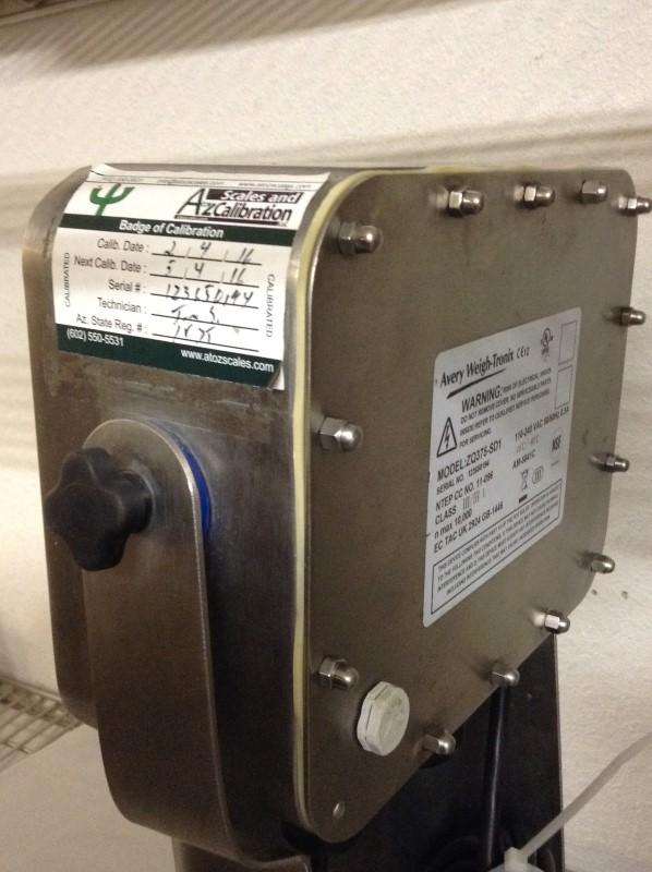 AVERY WEIGH-TRONIX Food Processor ZQ375