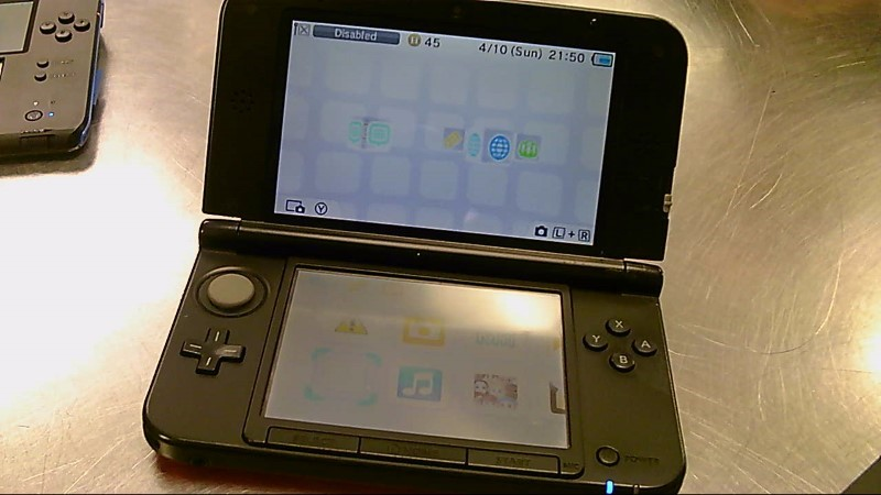 NINTENDO 3DS XL #SW123293082,CHARGER