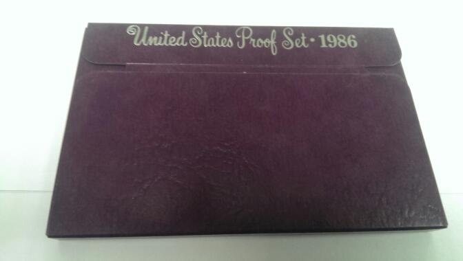 UNITED STATES 1986 PROOF SET