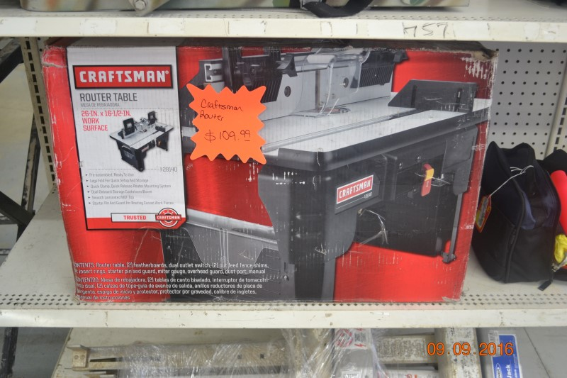 CRAFTSMAN Router Table 928140