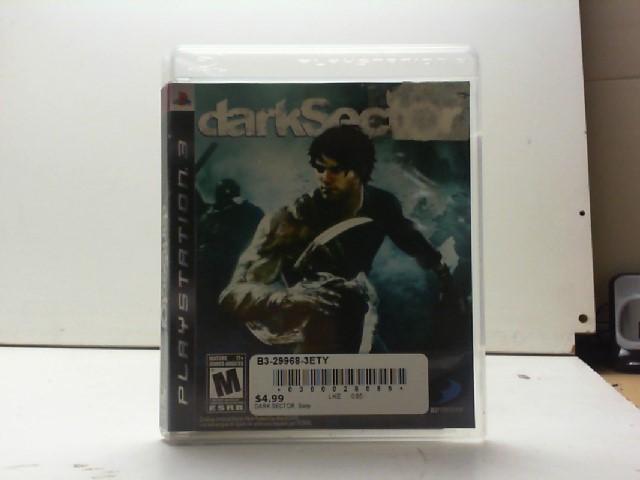 SONY Sony PlayStation 3 Game DARK SECTOR